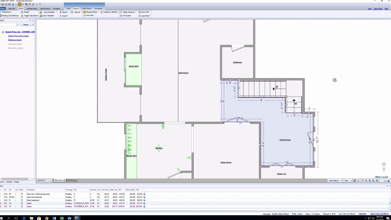Xactimate Xpert Tips: How to See and Estimate the Room Below the Stairs