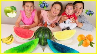 Best Learning Videos for Kids, Learn Colors for Children with Colorful Watermelons, Educational