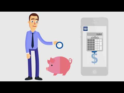 1&1 Online Accounting: The simple solution for small businesses