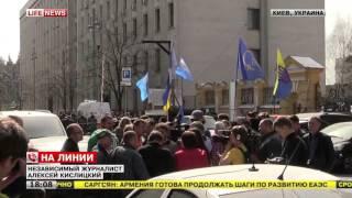 Активисты митинга в Киеве обещают сделать акцию бессрочной