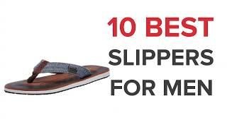 10 Best Slippers for Men in India