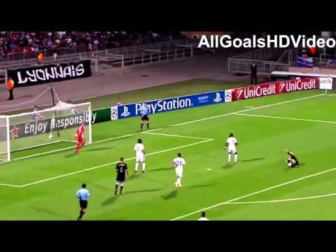 Antoine Griezmann bicycle kick goal   Real Sociedad vs Olympique Lyon 20 08 2013 HD