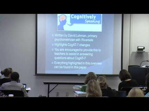 Test Coordinator AG Training (CogAT)