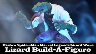 FwooshCast: Marvel Legends Lizard Build-a-Figure Spider Man Wave