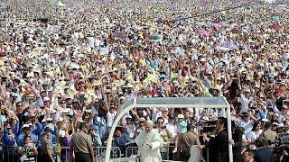 Le pape termine son séjour en Amérique du Sud