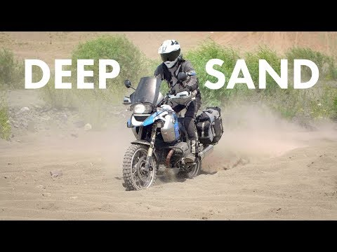 How to Ride in Deep Sand on Adventure Bikes