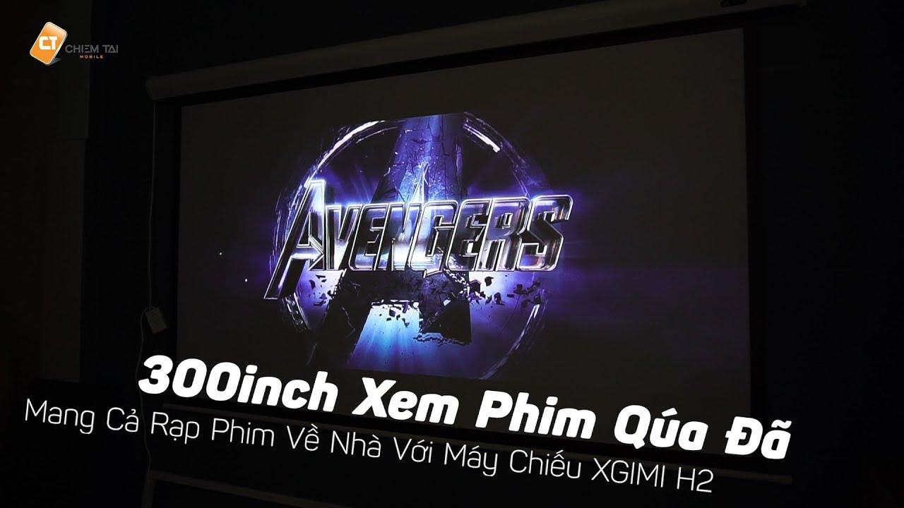 Biến Không Gian Giải Trí Ở Nhà Thành Rạp Chiếu Phim 300inch Như Xem Rạp Với  – Máy Chiếu XGIMI H2!