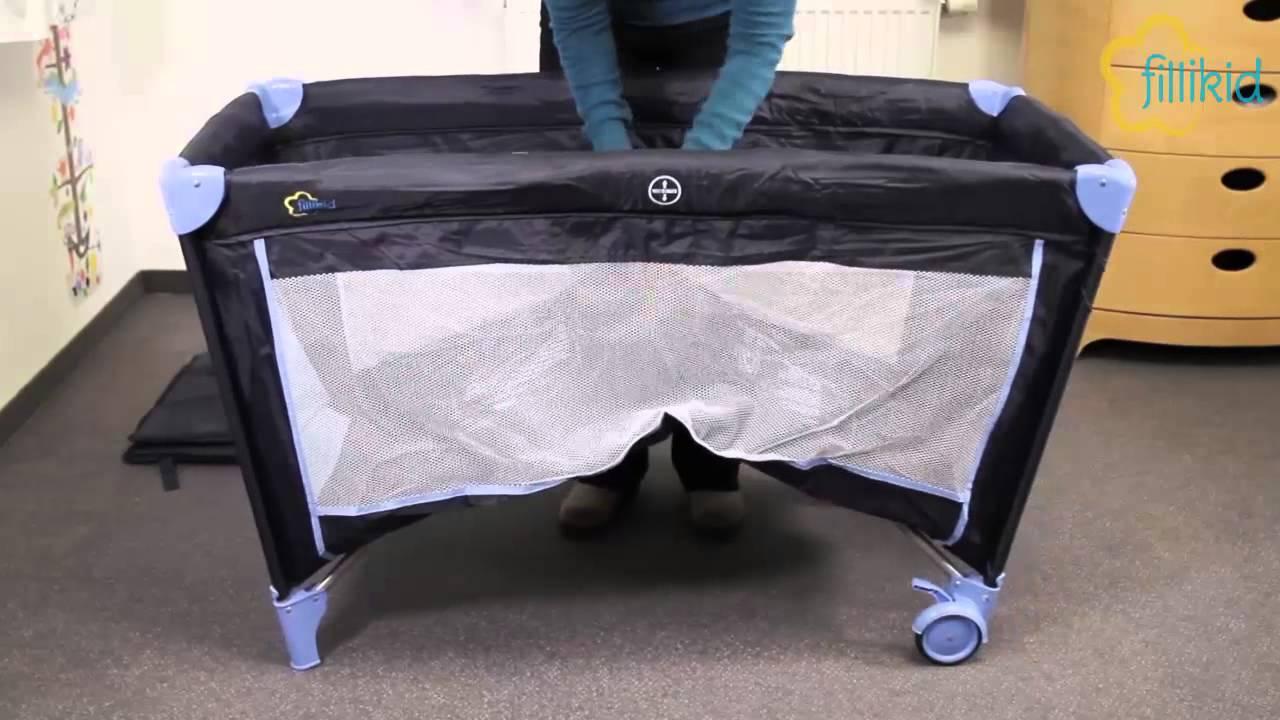 fillikid reisebett complete 4028 82 youtube. Black Bedroom Furniture Sets. Home Design Ideas
