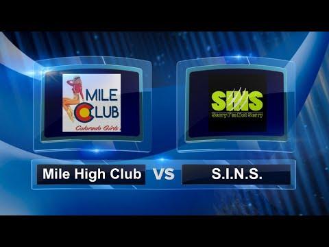 Mile High Club vs SINS - Finals - Women's Portland Kickball Open #PKO2017