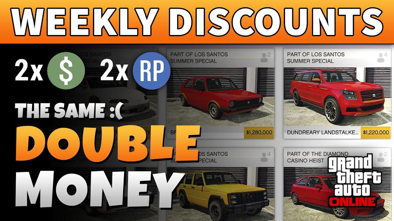 GTA DOUBLE MONEY & DISCOUNTS This Week + NEW DLC VEHICLES & CONTENT | GTA Online DLC Weekly Update