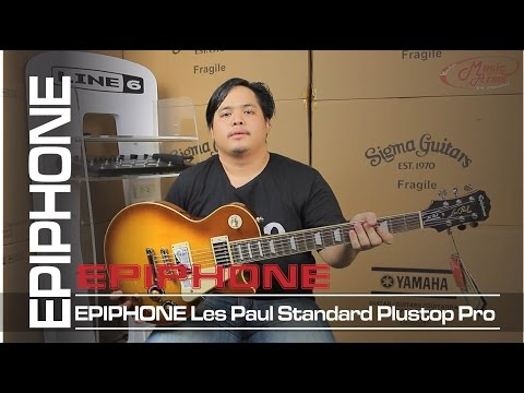 Epiphone Les Paul Standard Plustop Pro   กีต้าร์ไฟฟ้า [ MA รีวิว ]