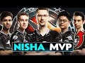 Secret.Nisha MVP of The Chongqing Major - Player Perspective Best Plays - Dota 2