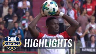 Video Gol Pertandingan Augsburg vs Hannover 96