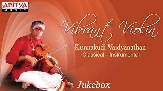 vibrant violin kunnakudi vaidyanathan classical instrumental songs