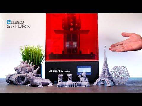 Elegoo Saturn - 4k Mono Resin 3D Printer