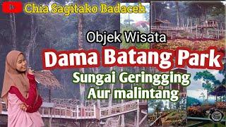 Objek Wisata Dama Batang Park Ll Sungai Geringging Aur Malintang Youtube