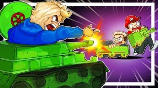 You will bow down to me you peasants, I AM THE LORD OF THE TANKS! - Shellshock LIVE