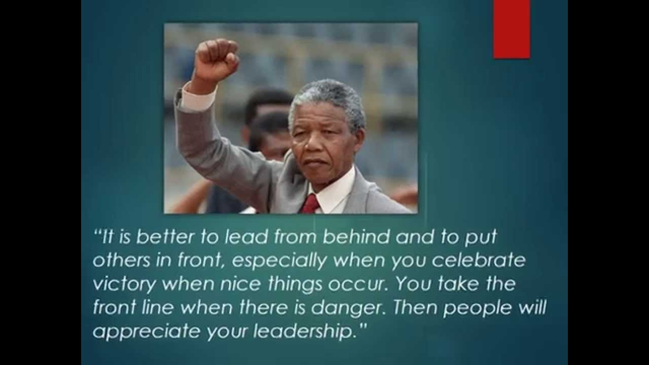 inspirational quotes nelson mandela education