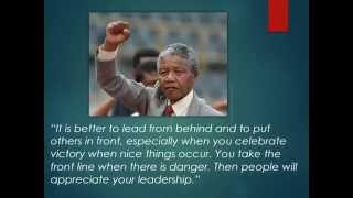Inspirational Quotes Nelson Mandela Education