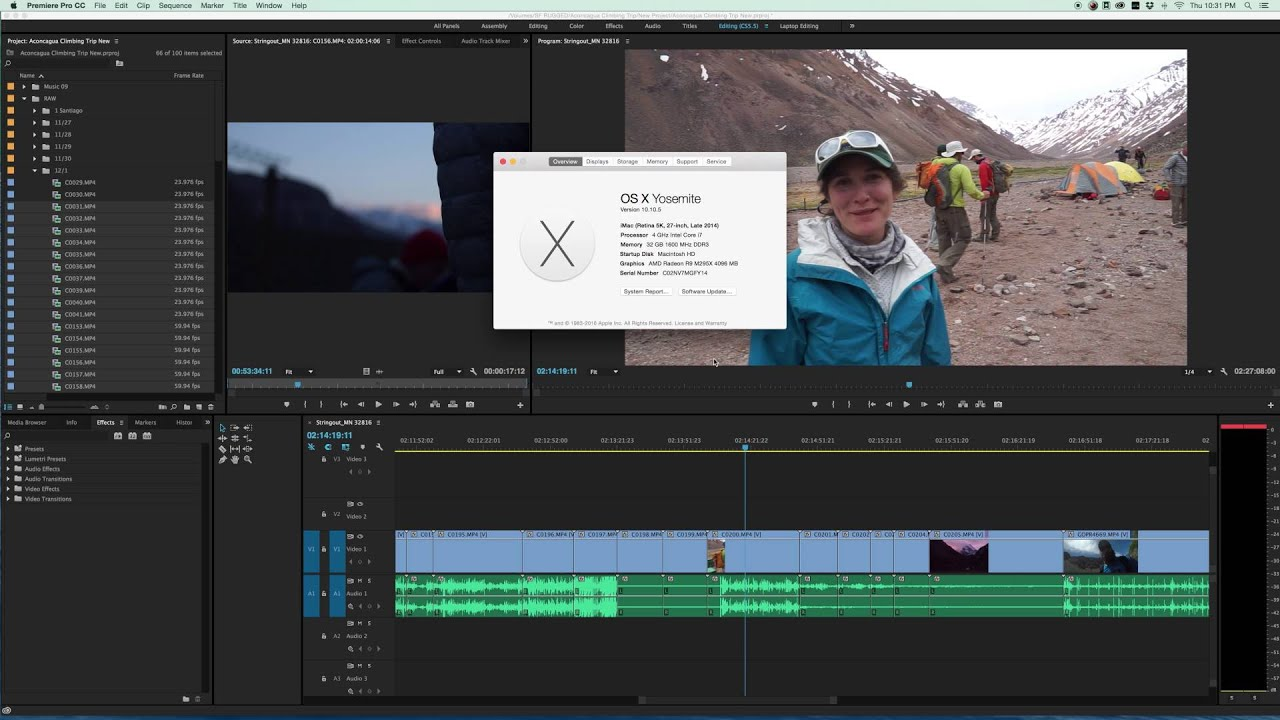 Premiere Pro CC 2015 Problem, Major lag, flashing clips, Looking for  Solution