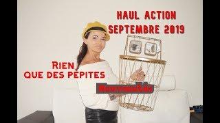 HAUL ACTION SEPTEMBRE 2019 - Nouveautés- Rien que des pépites.