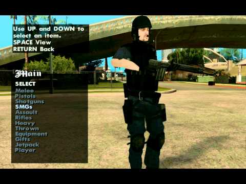 GTA: San Andreas S.W.A.T Mods