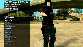 GTA: San Andreas S.W.A.T Mods