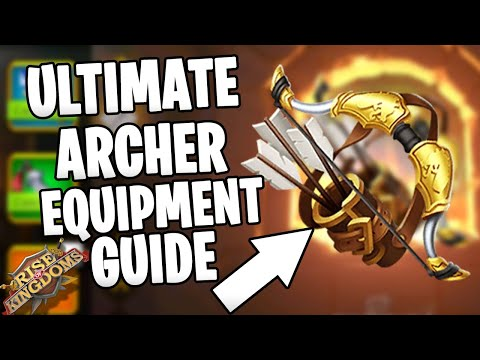 Free to Play ARCHER EQUIPMENT SET GUIDE Epic vs Legendary rok tips | Rise of Kingdoms