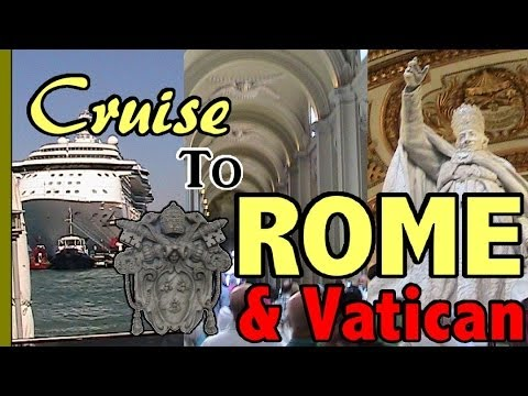 Rome Tour And The Vatican Via Cruise Ship - Royal Caribbean Med Cruise