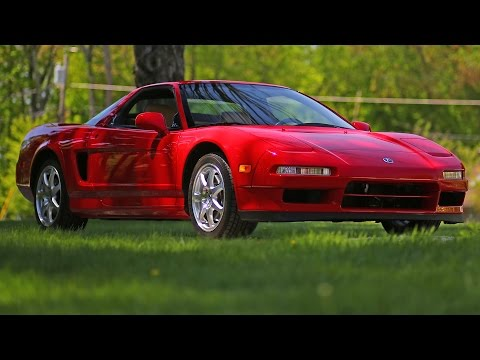 Honda Acura NSX -T original condition review