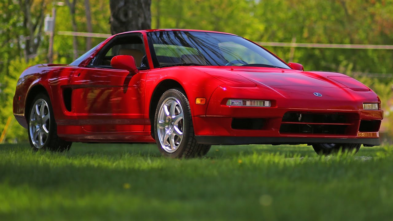 Honda Acura NSX  T Original Condition Review   YouTube