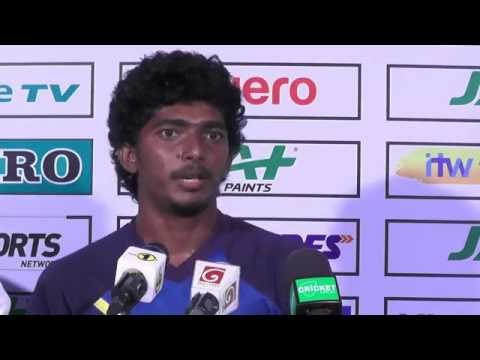 1st Test, Day 2 - Post Match Press Conference with Lakshan Sandakan