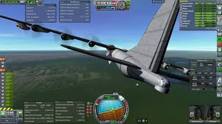Kerbal Space Program RO Sandbox - Convair B-36 Peacemaker