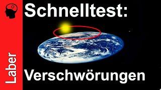 Verschwörungstheorien im Schnelltest: Flache Erde, Mondlandung, 9/11 und JFK