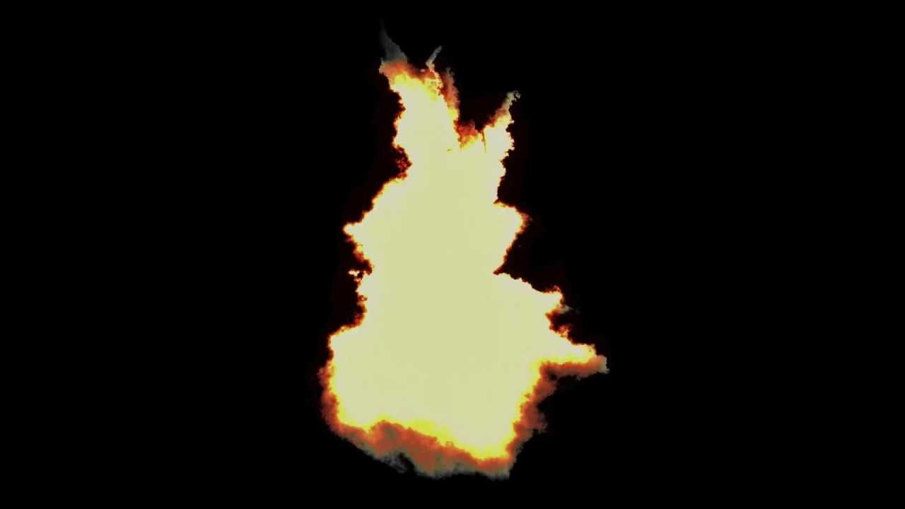Pre-Keyed CG Torch Fire Stock Footage (FREE WITH DOWNLOAD!) 1080p HD VFX