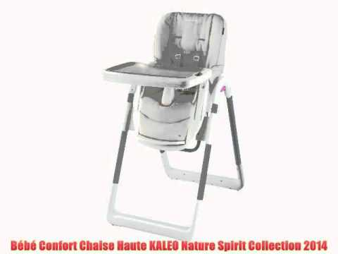 B b confort chaise haute kaleo nature spirit collection 2014 youtube - Harnais chaise haute bebe confort ...