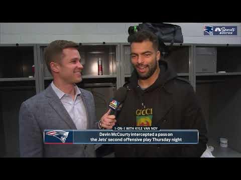 Kyle Van Noy on Sam Darnold 'trying to exploit' Patriots defense   NBC Sports Boston  