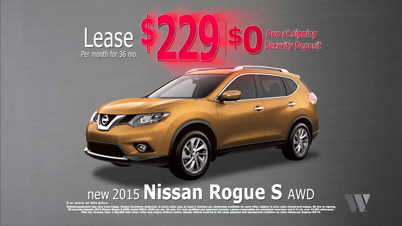 Jeff Wyler Fairfield Nissan - Lease a New Nissan Rogue ...