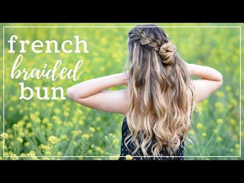 Double French Braid Bun | Braids by Jordan