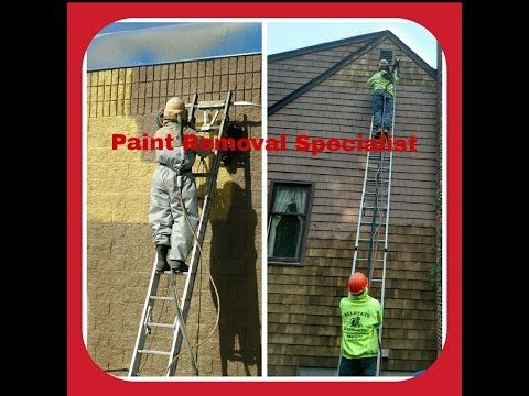 Paint Stripping & Removal RI. Rhode Island (Watch our Video)