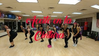 Aceite en la Cintura - Mark B  | Dance Fitness | ashley jabs