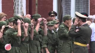 Северо-Кавказское суворовское военное училище вновь начало свою работу
