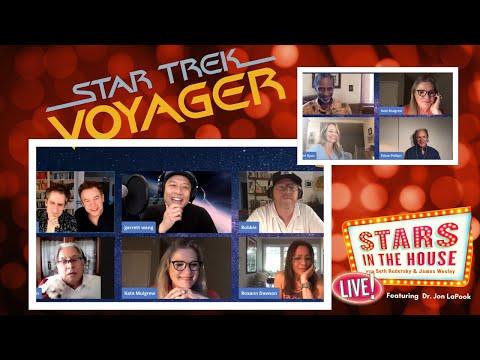 #StarsInTheHouse Tuesday 5/26 8 PM: Star Trek Voyager Reunion