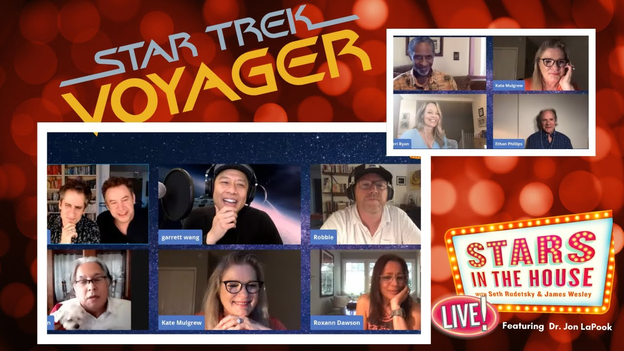 Download Star Trek Voyager Reunion   Stars In The House, Tuesday, 5/26 at 8PM ET