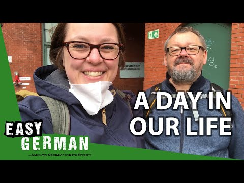A day in the lives of the Easy German Team | Easy German 347