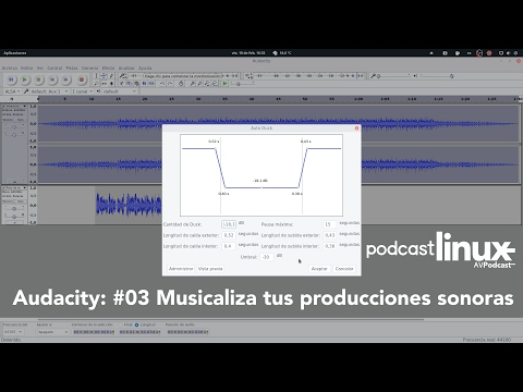 Audacity: #03 Musicaliza tus producciones sonoras