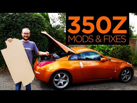 Nissan 350Z - All The Mods & Repairs So Far