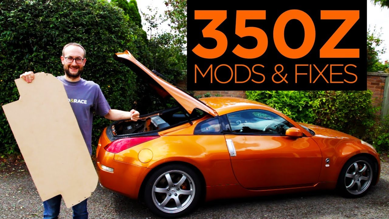 350Z - All The Mods & Repairs So Far | Road & Race S05E12