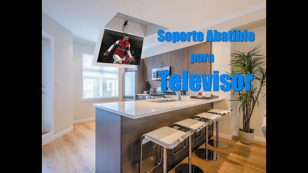 Bonito Pararse Zona De Tv Para La Cocina Molde - Ideas Del Gabinete ...