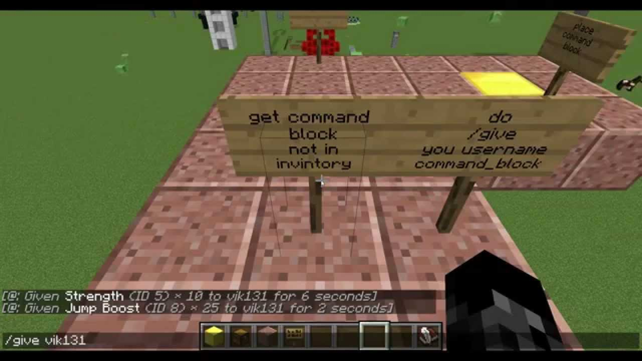 minecraft how to get jump boost 100 youtube